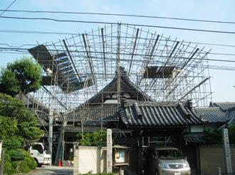 素屋根設置